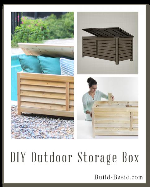 Build A DIY Outdoor Storage Box U2013 Building Plans By @BuildBasic  Www.build Basic.com