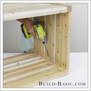 DIY Outdoor Storage Box by Build Basic - Step 16