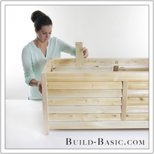 DIY Outdoor Storage Box by Build Basic - Step 18