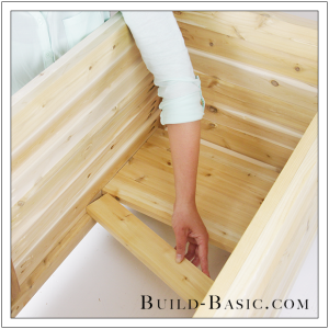 DIY Outdoor Storage Box by Build Basic - Step 19