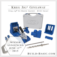 Kreg Jig Giveaway by Build Basic - www.build-basic.com