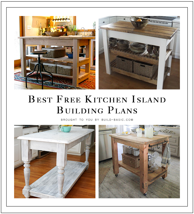 diy kitchen island building plans roundup by build basic