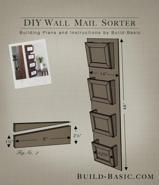 Famous Build a DIY Wall Mail Sorter ‹ Build Basic MX77