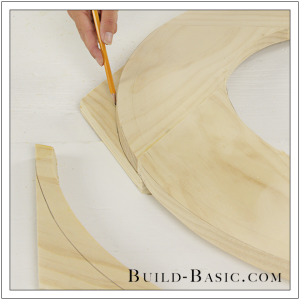 DIY Round Mirror Frame by Build Basic - Step 17
