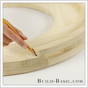 DIY Round Mirror Frame by Build Basic - Step 19