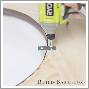 DIY Round Mirror Frame by Build Basic - Step 23
