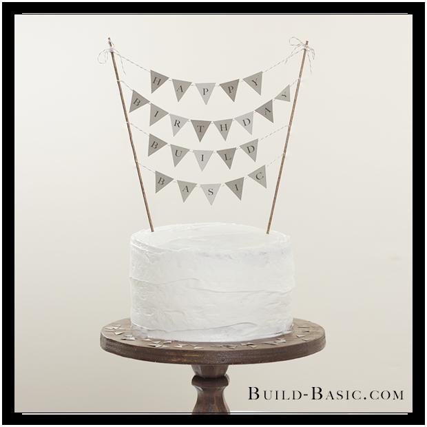 Build Basic Happy Birthday Flags
