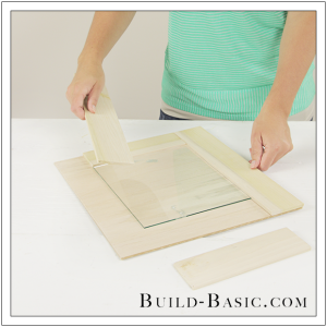 DIY Burlap Picture Frame by Build Basic - Step 1