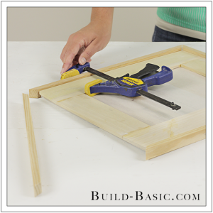DIY Burlap Picture Frame by Build Basic - Step 5