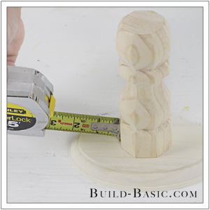 DIY Cake Stand by Build Basic - Step 2