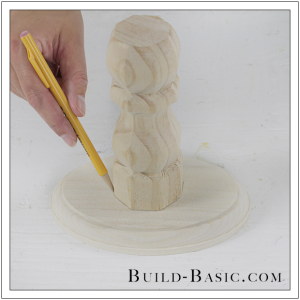 DIY Cake Stand by Build Basic - Step 3