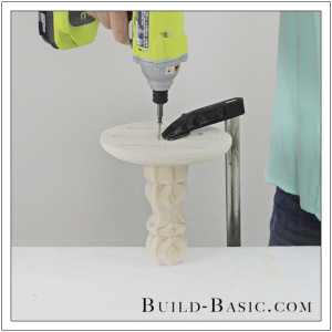 DIY Cake Stand by Build Basic - Step 4