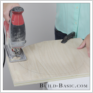 DIY Cake Stand by Build Basic - Step 7