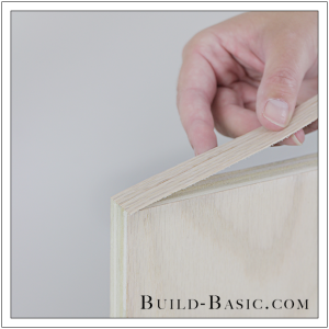 How To Finish Plywood Edges by Build Basic - Step 3
