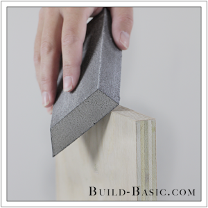 How To Finish Plywood Edges by Build Basic - Step 9