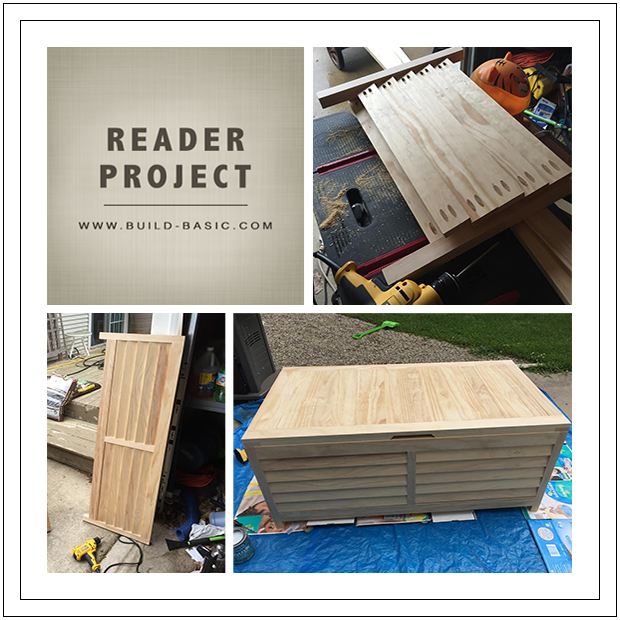 Reader Project Storage Chest - Build Basic