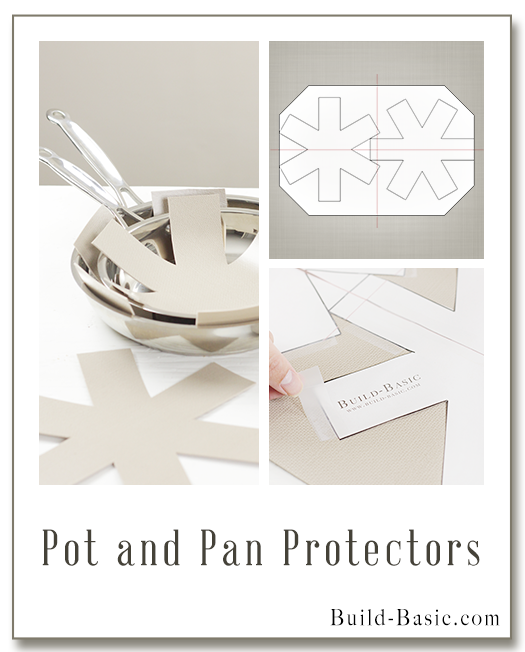 Make DIY Pot and Pan Protectors - Project by @BuildBasic www.build-basic.com