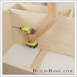 DIY Sideboard Cabinet by Build Basic - Step 10