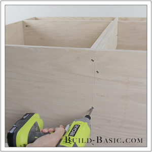 DIY Sideboard Cabinet by Build Basic - Step 11