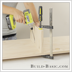 DIY Sideboard Cabinet by Build Basic - Step 6