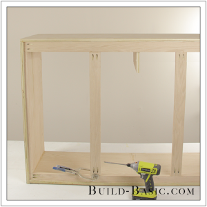 DIY Sideboard Cabinet by Build Basic - Step 8