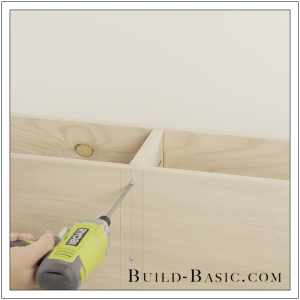 DIY Sideboard Cabinet by Build Basic - Step 9