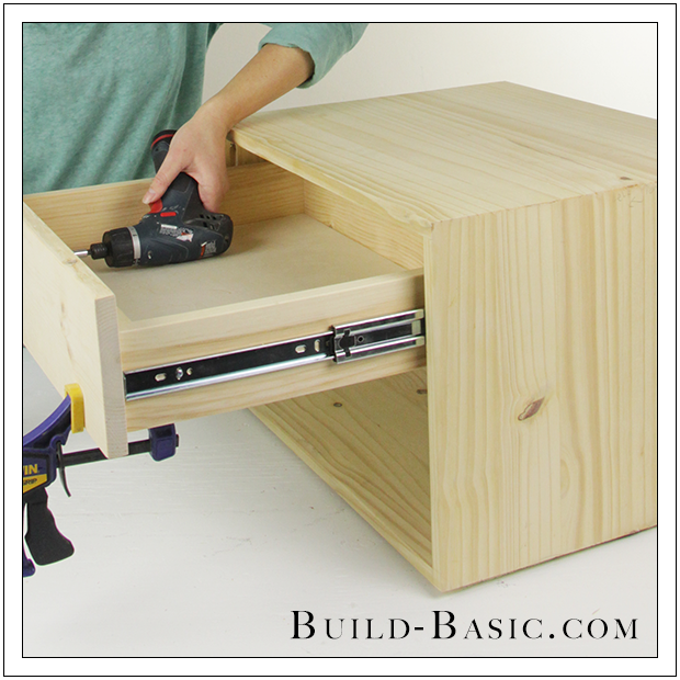 build a diy midcentury 2-drawer nightstand ‹ build basic How to Build a Nightstand with Drawers