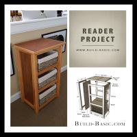 Basket Storage Cabinet - Reader Project