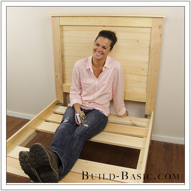 Build a DIY Beadboard Twin Bed by Build Basic - Opener Photo Jenn