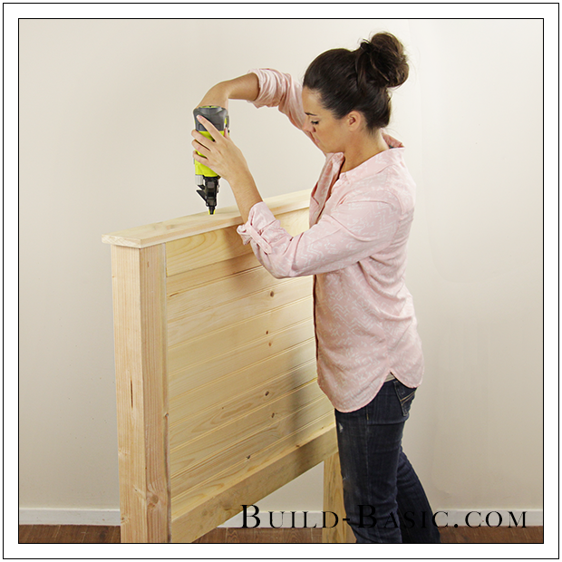 Build a DIY Beadboard Twin Bed by Build Basic - Process Photo