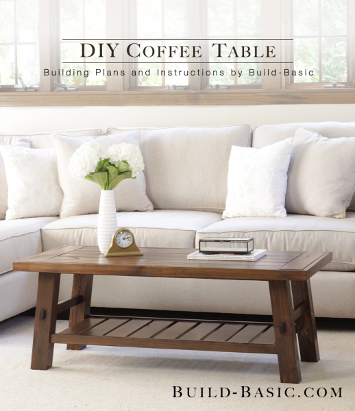 Coffee Table Plans.Build A Diy Coffee Table Build Basic