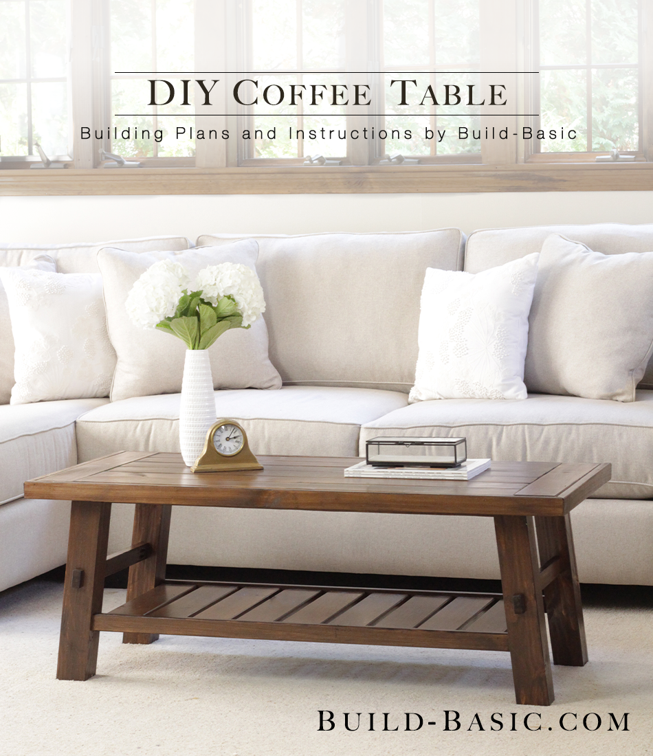 Build a diy coffee table build basic geotapseo Image collections