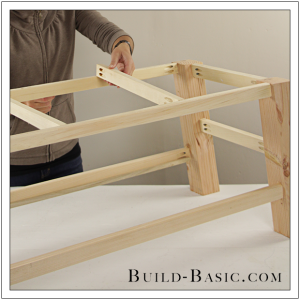 DIY Coffee Table by Build Basic - Step 11