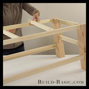 Diy Coffee Table By Build Basic Step 11