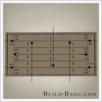 DIY Coffee Table by Build Basic - Step 13 Drawing