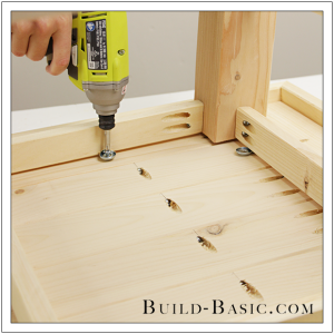 DIY Coffee Table by Build Basic - Step 19