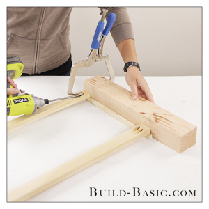 DIY Coffee Table by Build Basic - Step 5