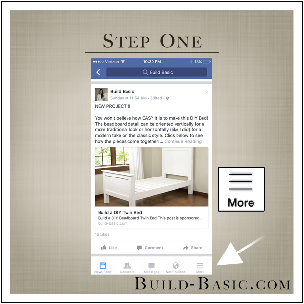 Facebook is Hiding Posts From You - By Build Basic - Step 1