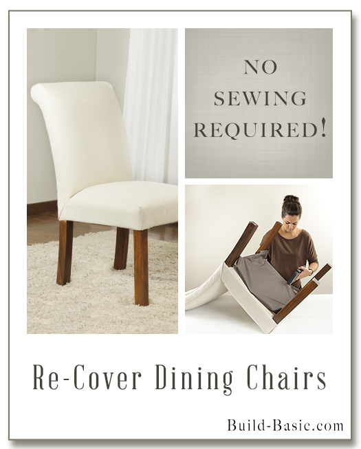 How To Re-Cover Dining Chair by Build Basic - Display Frame