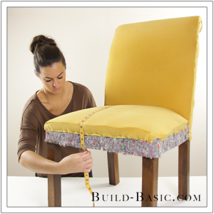How To Re-Cover a Dining Chair Part 1 by Build Basic - Step 1