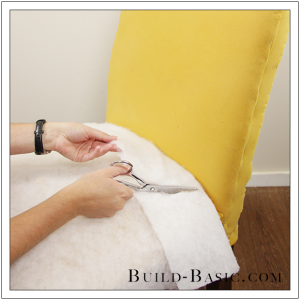 How To Re-Cover a Dining Chair Part 1 by Build Basic - Step 3