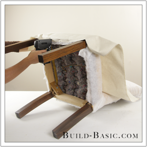 How To Re-Cover a Dining Chair Part 2 by Build Basic - Step 1