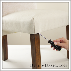 How To Re-Cover a Dining Chair Part 2 by Build Basic - Step 13