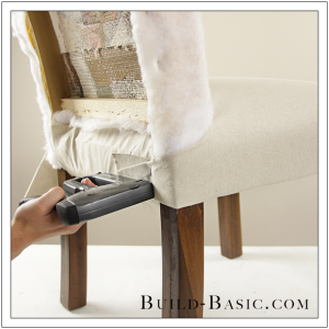 How To Re-Cover a Dining Chair Part 2 by Build Basic - Step 17