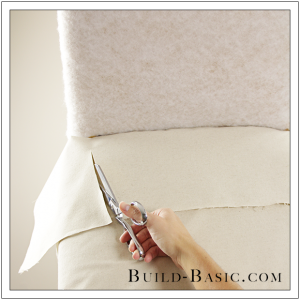 How To Re-Cover a Dining Chair Part 2 by Build Basic - Step 2