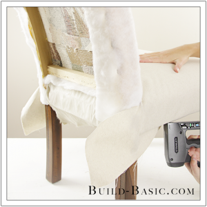 How To Re-Cover a Dining Chair Part 2 by Build Basic - Step 4