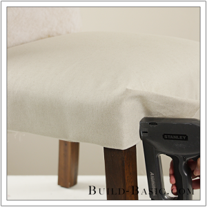 How To Re-Cover a Dining Chair Part 2 by Build Basic - Step 9