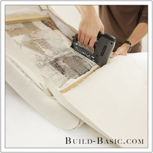 How To Re-Cover a Dining Chair Part 4 by Build Basic - Step 1