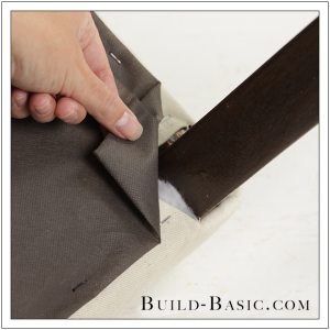 How To Re-Cover a Dining Chair Part 5 by Build Basic - Step 2