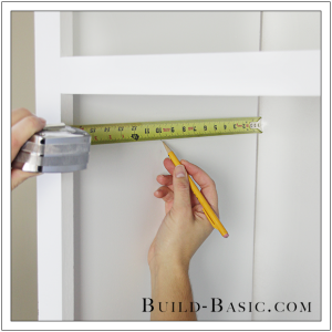 The Build Basic Custom Closet System - Adjustable Shelves and Hanging Rods - Step 10